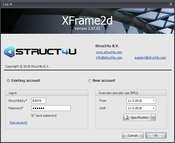 XFrame3d design software for 3D models of any steel