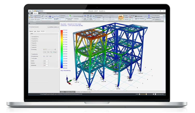Structural analysis and design software for steel  Struct4u